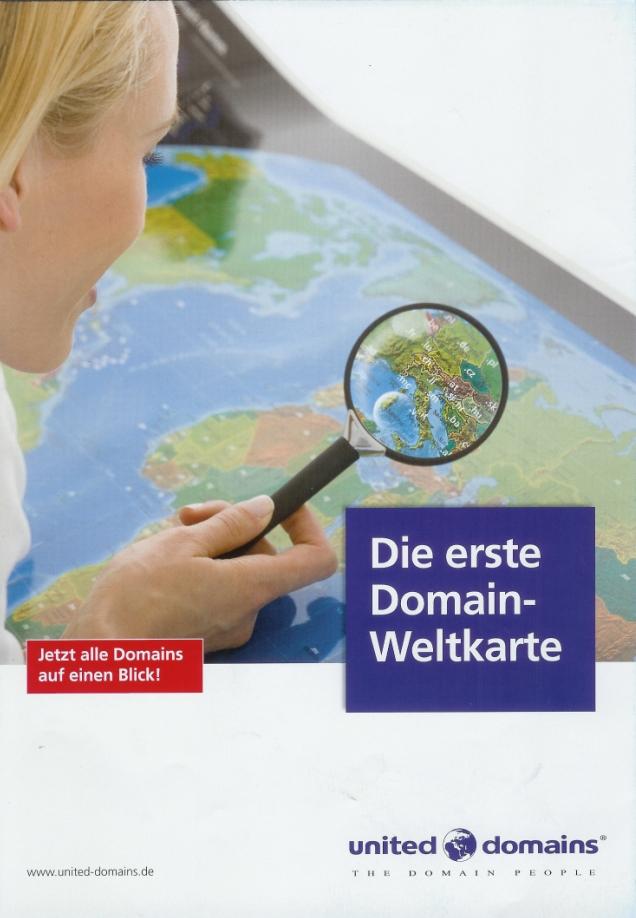 Domain Weltkarte