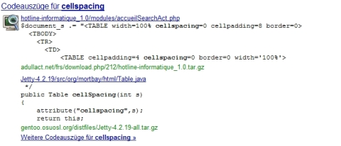 codeauszuege serps