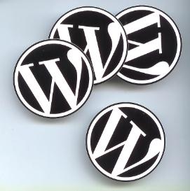 wordpress aufkleber